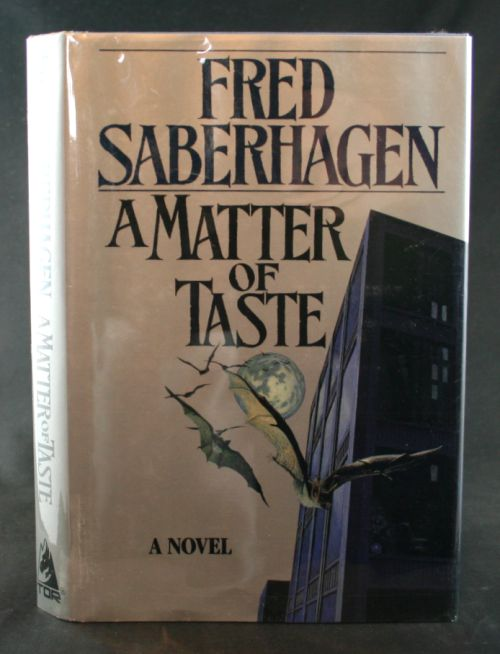 Image for A Matter of Taste: A Novel