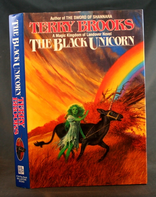 Image for The Black Unicorn: A Magic Kingdom of Landover Novel