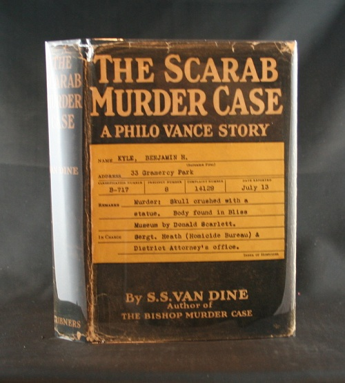 Image for The Scarab Murder Case