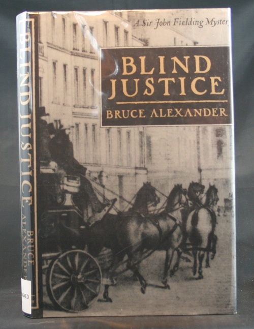 Image for Blind Justice: A Sir John Fielding Mystery