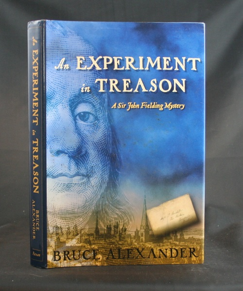 Image for An Experiment in Treason: A Sir John Fielding Mystery