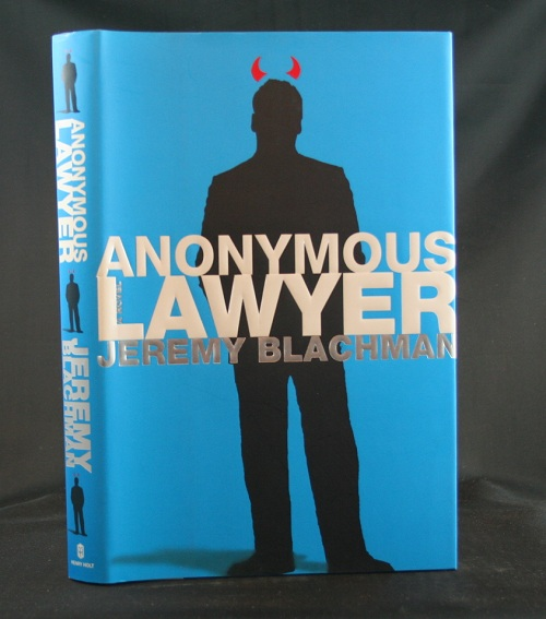 Image for Anonymous Lawyer: A Novel