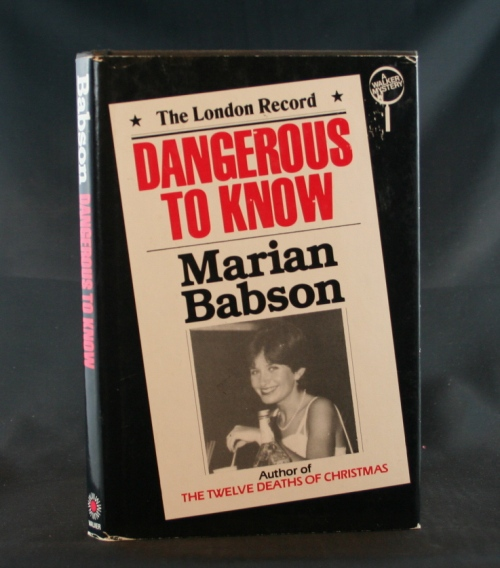Image for Dangerous to Know