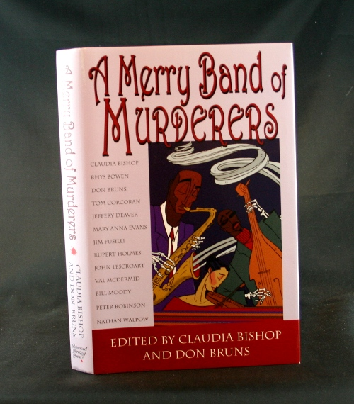 Image for A Merry Band of Murderers: An Original Mystery Anthology of Songs and Stories