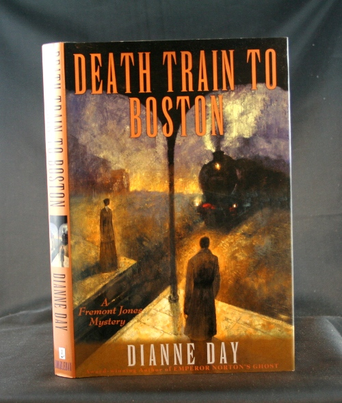 Image for Death Train to Boston: A Fremont Jone Mystery