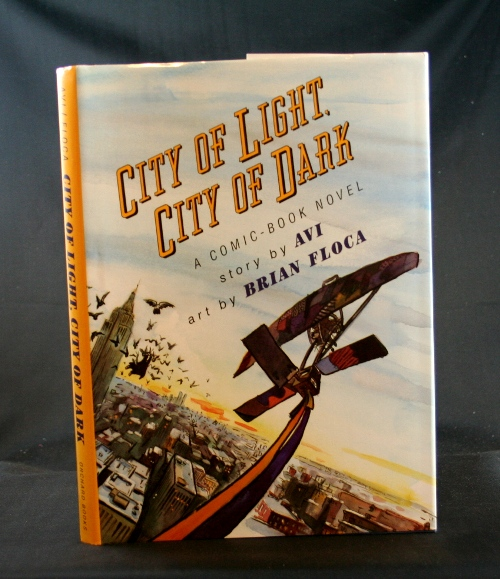 Image for City of Light, City of Dark: A Comic-Book Novel