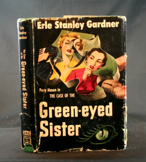 Image for The Case of the Green-Eyed Sister