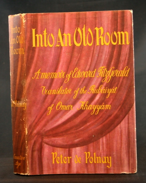 Image for Into An Old Room: A memoir of Edward FitzGerald, translator of the Rubaiyat of O