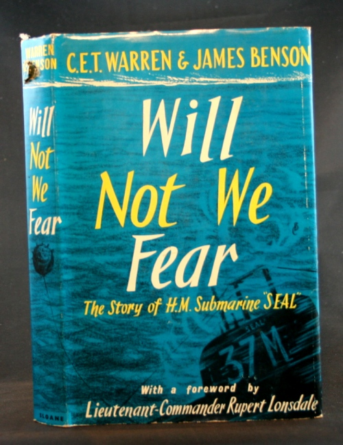 "Image for Will Not We Fear: The Story of H.M. Submarine ""SEAL"""