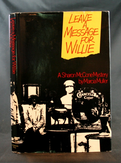 Image for Leave a Message for Willie: A Sharon McCone Mystery