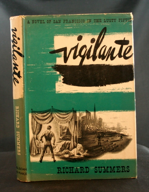 Image for Vigilante: A Novel of San Francisco in the Lusty Fifties