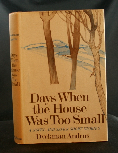 Image for Days When the House Was Too Small: A Novel and Seven Short Stories