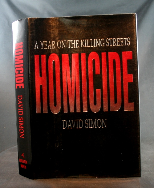 Image for Homicide: A Year on the Killing Streets