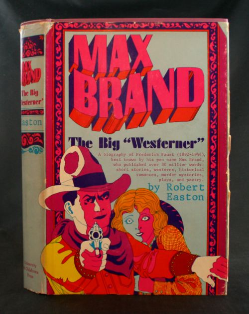 "Image for Max Brand: The Big ""Westerner"""