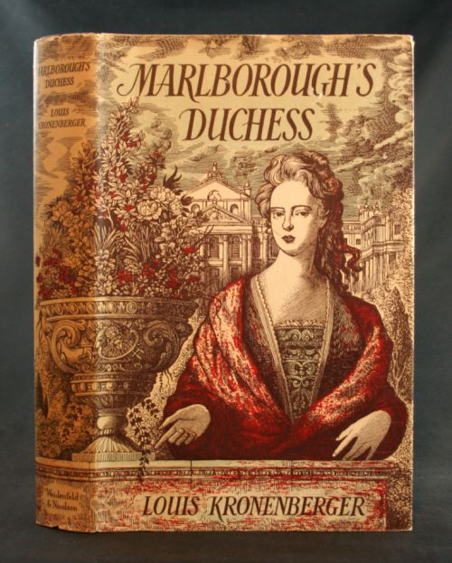 Image for Marlborough's Duchess: A Study in Worldliness