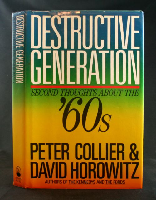 Image for Destructive Generation: Second Thoughts About the Sixties