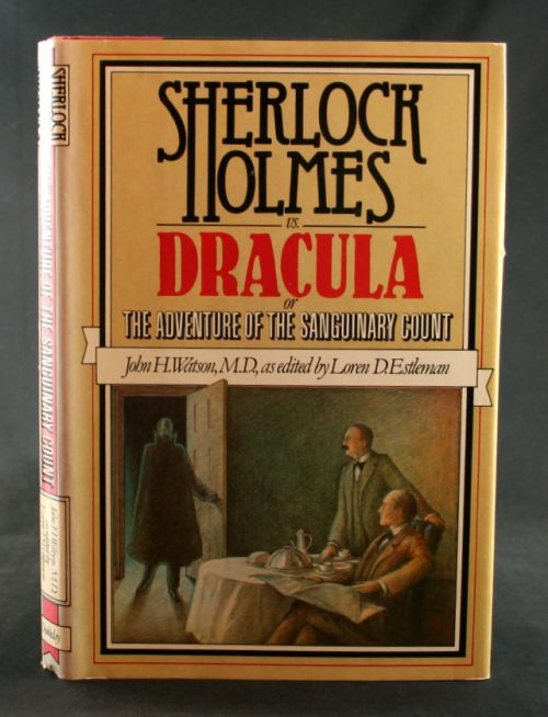 Image for Sherlock Holmes vs. Dracula or The Adventure of the Sanguinary Count
