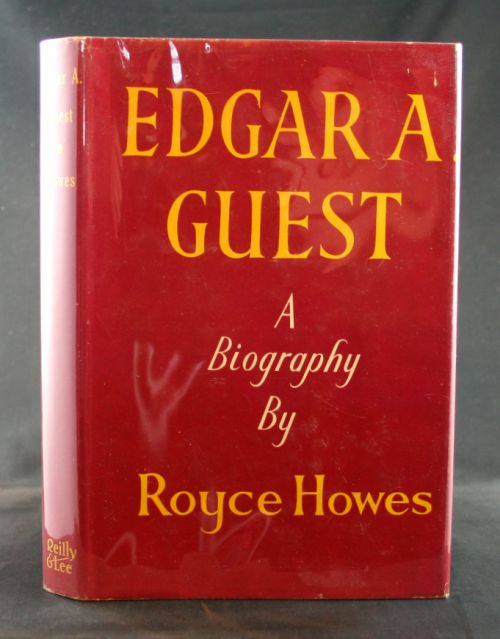 Image for Edgar A. Guest, A Biography