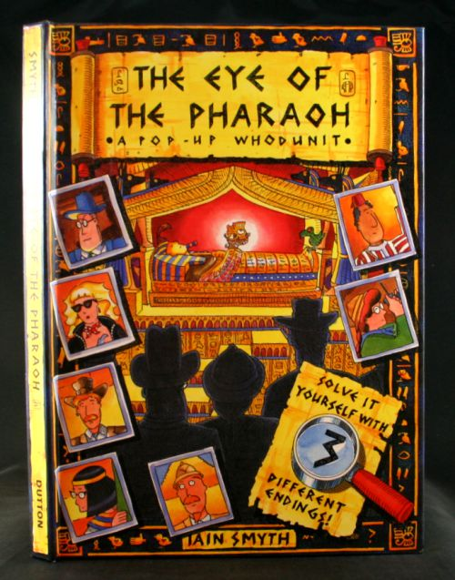 Image for The Eye of the Pharaoh: A Pop-Up Whodunit