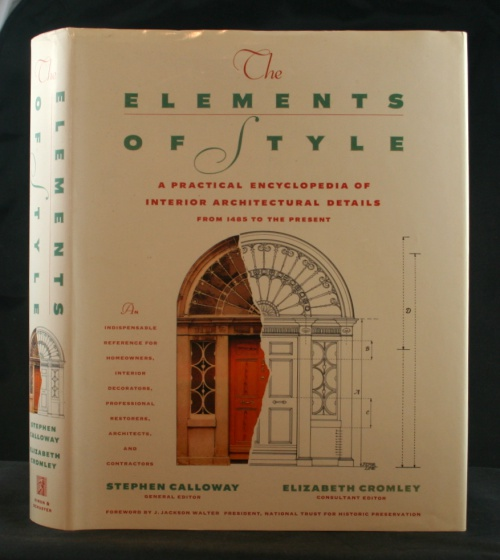 Image for The Elements of Style: A Practical Encyclopedia of Interior Architectural Details