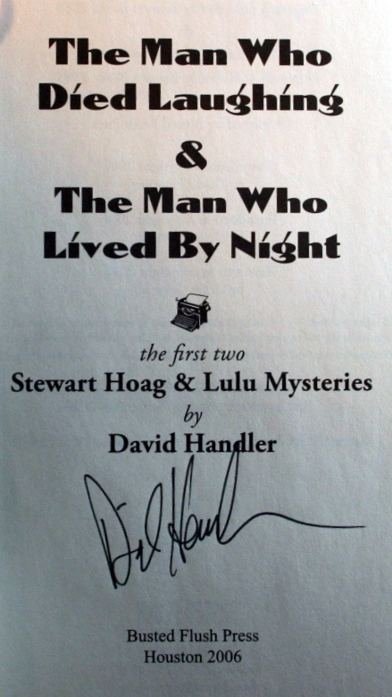 Image for The Man Who Died Laughing & The Man Who Lived By Night