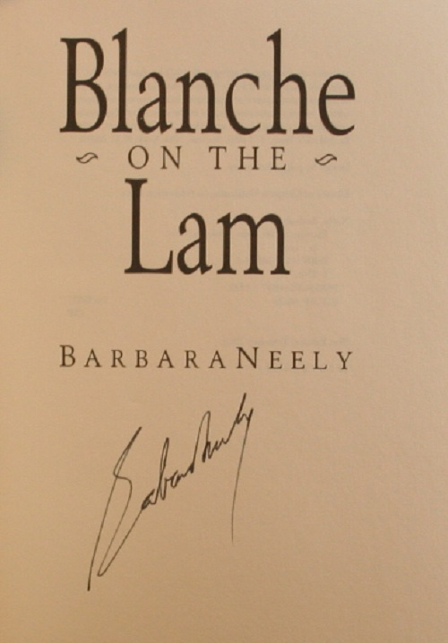 Image for Blanche on the Lam