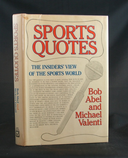 Image for Sports Quotes: The Insider's View of the Sports World